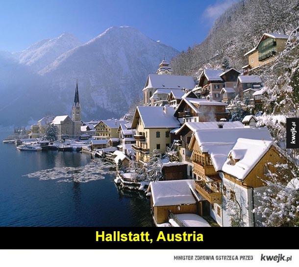 Malownicze miasteczka - polska, austria, szwajcaria, hiszpania, chorwacja