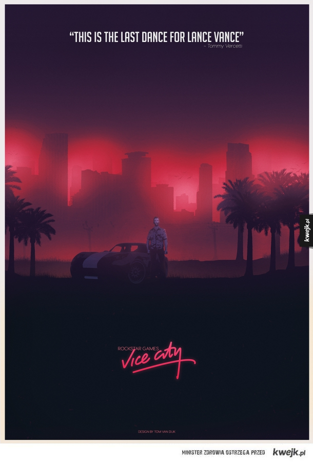 Plakat Vice City
