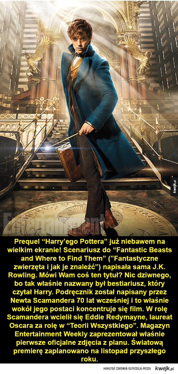 Filmowy prequel Harry'ego Pottera - Prequel