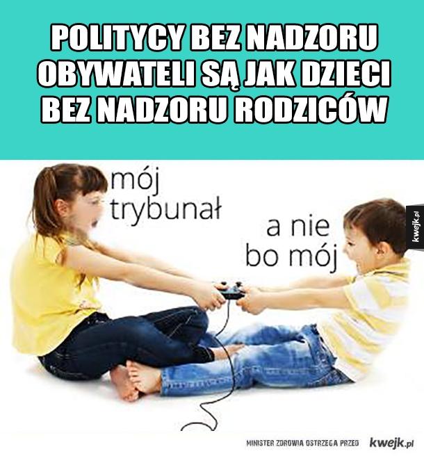 Politycy bez nadzoru obywateli