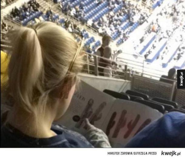 Chyba mecz nie jest interesujący