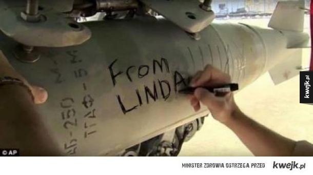 Linda wygra z Isis
