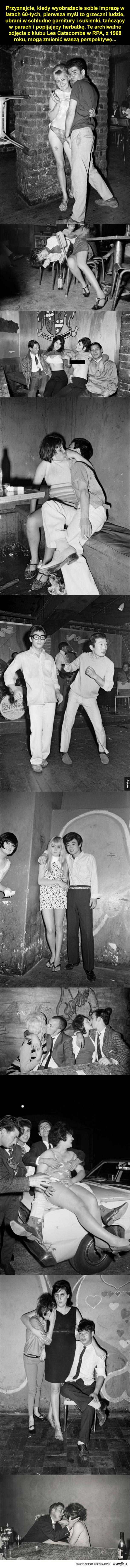 Szalone lata 60-te na archiwalnych zdjęciach