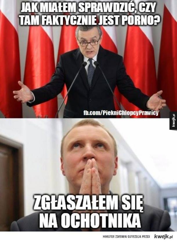 Minister kultury...
