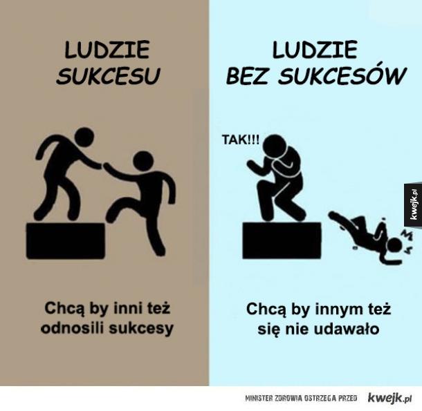 SUKCES VS PORAŻKA