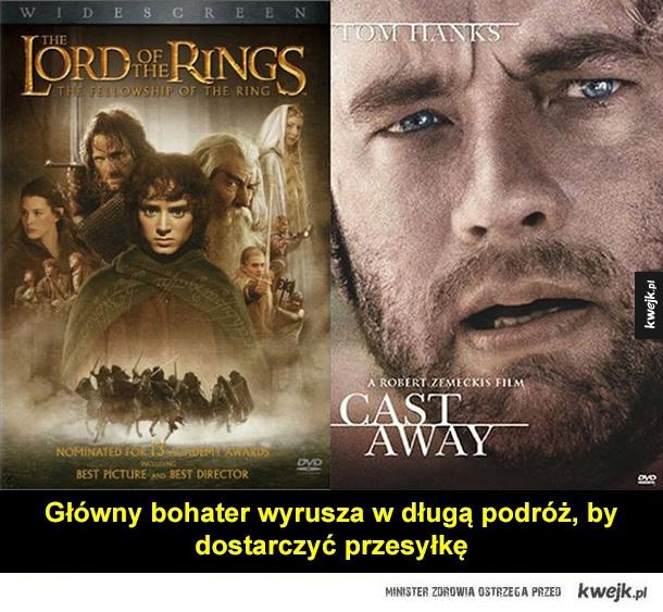 władca pierścieni, gra o tron, star wars, up, gran torino, toy story, alien