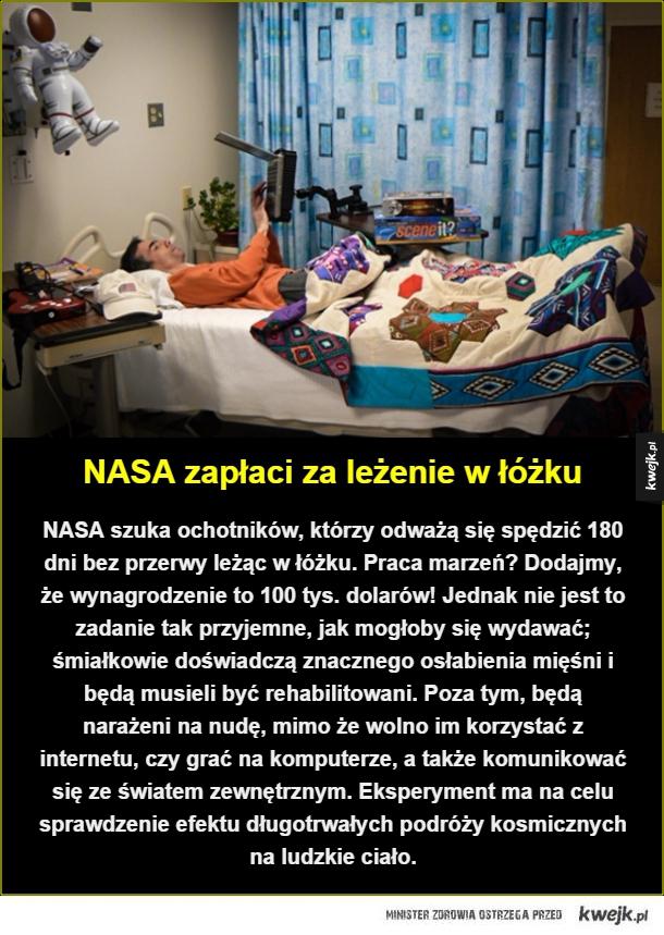 Praca marzeń w NASA