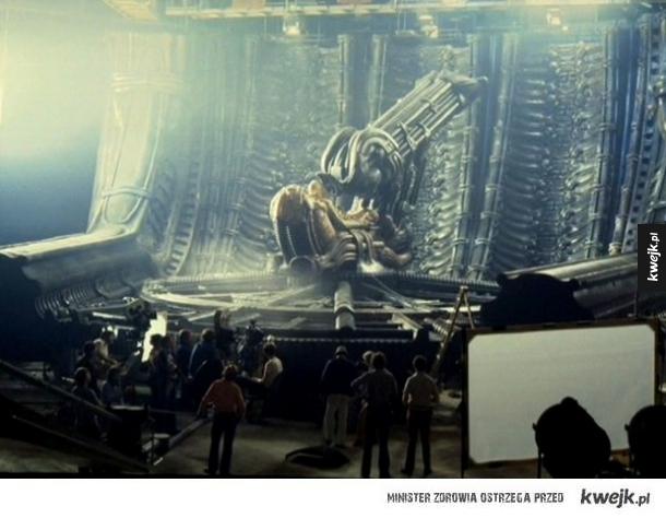 Zdjęcia z planu filmowego Obcego Ridleya Scotta