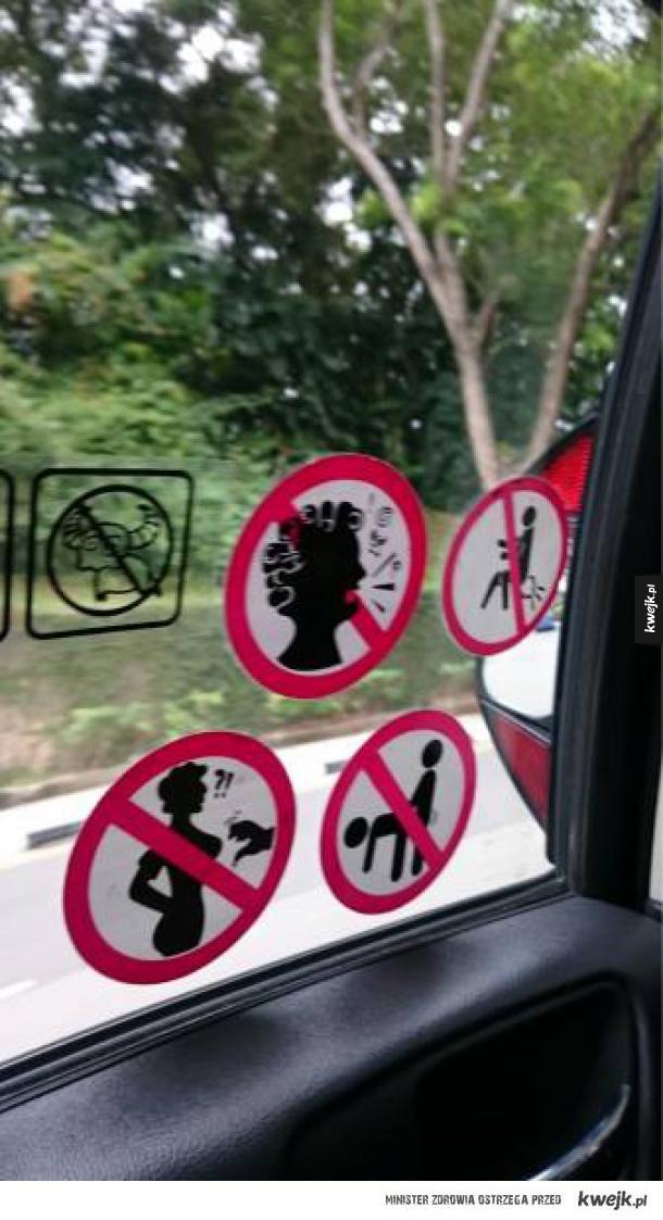Niektóre zakazy są nieco dziwne