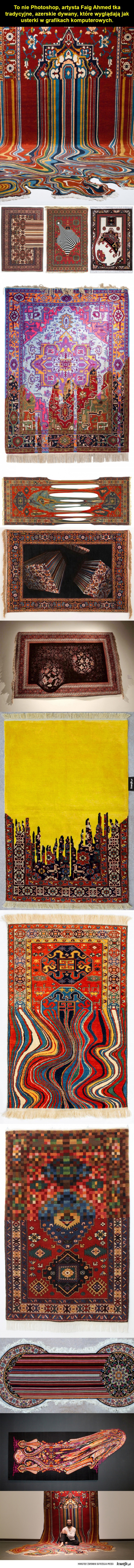 Współczesne, choć tradycyjne dywany