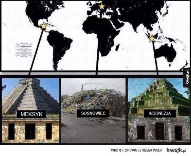 Jaki kraj takie piramidy