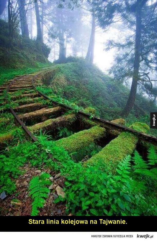 Niesamowicie wyglądające opuszczone miejsca