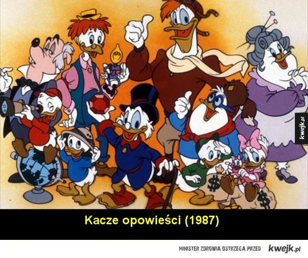 Klasyczne kreskówki z lat '80