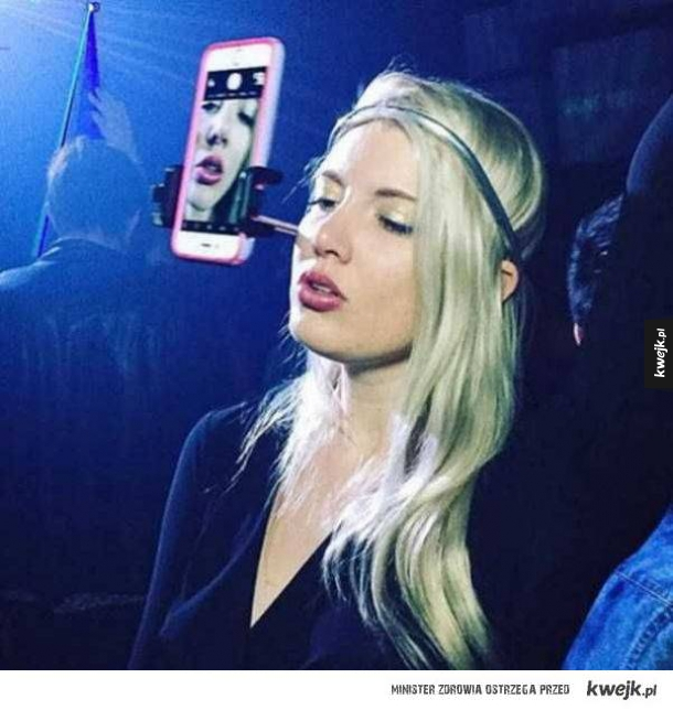 Nowy level selfie sticka