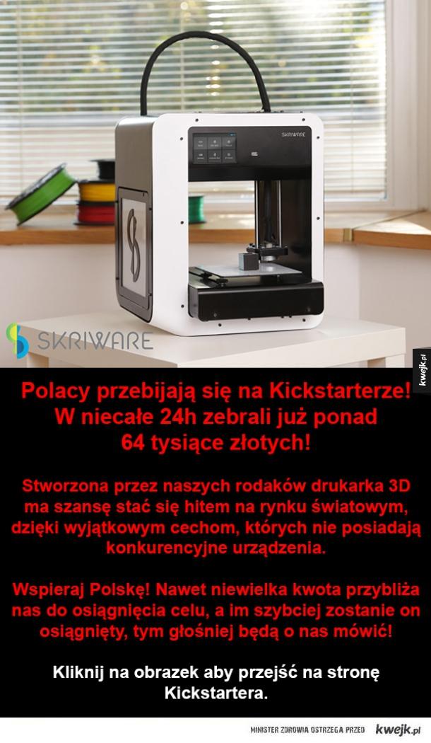 Polacy podbijają rynek drukarek 3D!