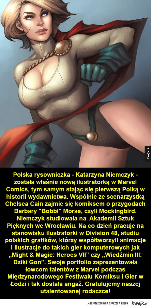 Polka w Marvelu!