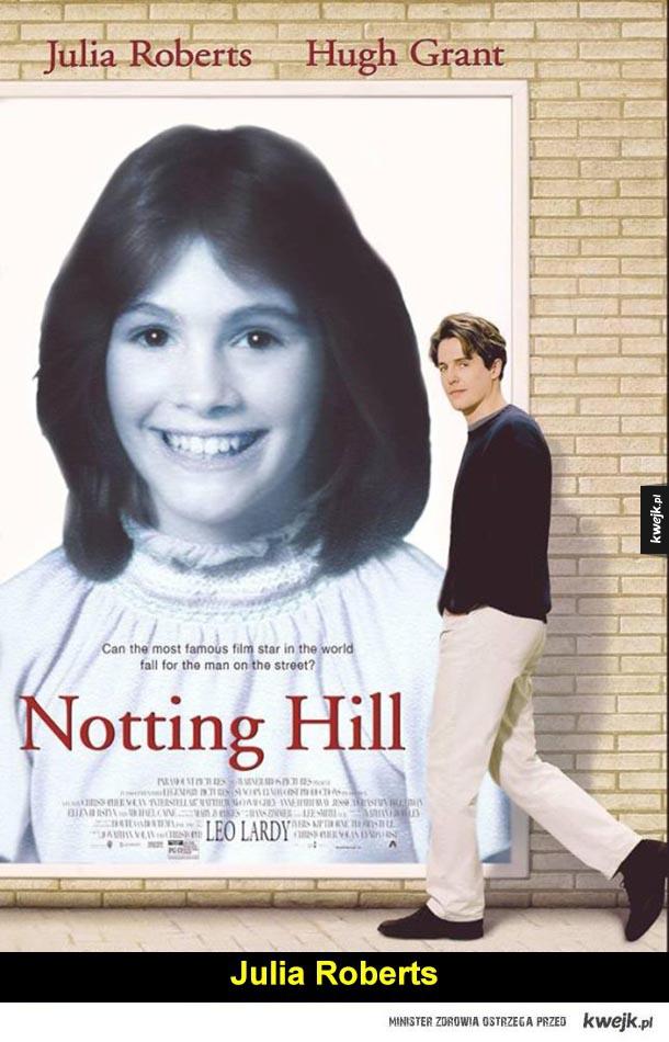 Notting hill, julia roberts, leonardo dicaprio, jamie foxx, charlize theron