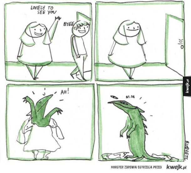 Reptilianie wszędzie