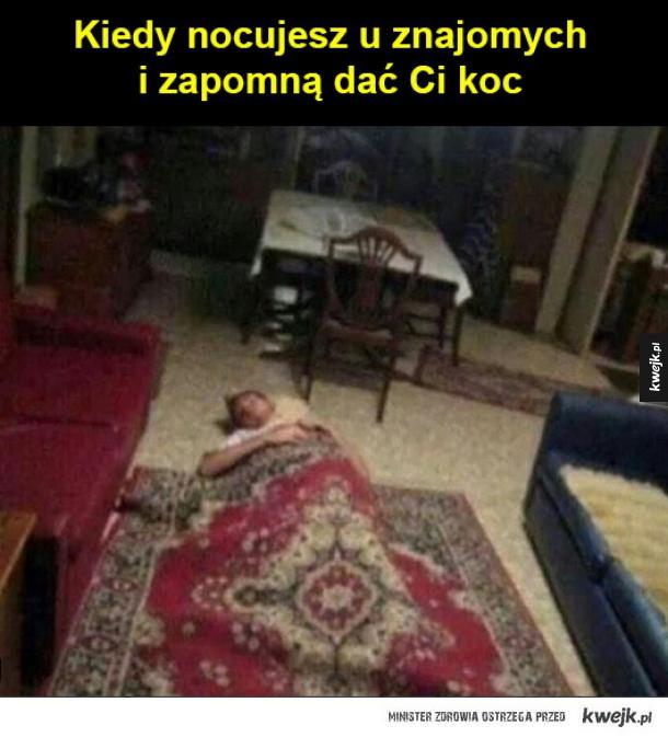 spoko, jest dywan