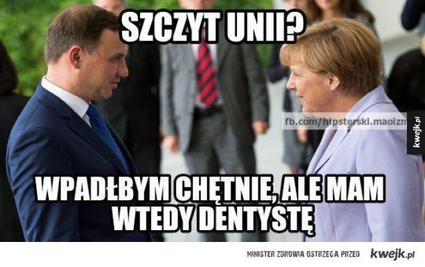Zamieszanie ze szczytem UE