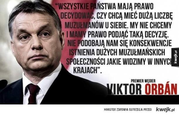 Orban o imigrantach