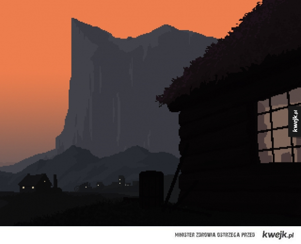 Pikselowe grafiki Jaya Knoxa
