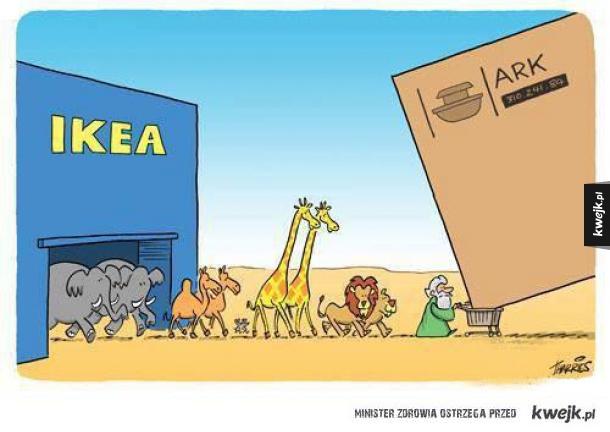 gdyby arka budowana była w naszych czasach