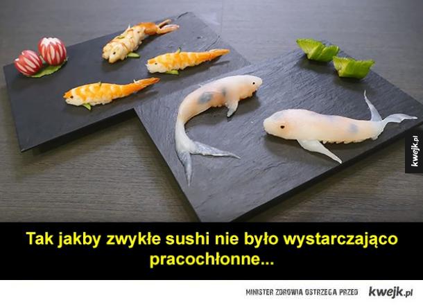 Piękne sushi