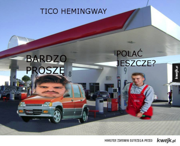 Tico Hemingway :D