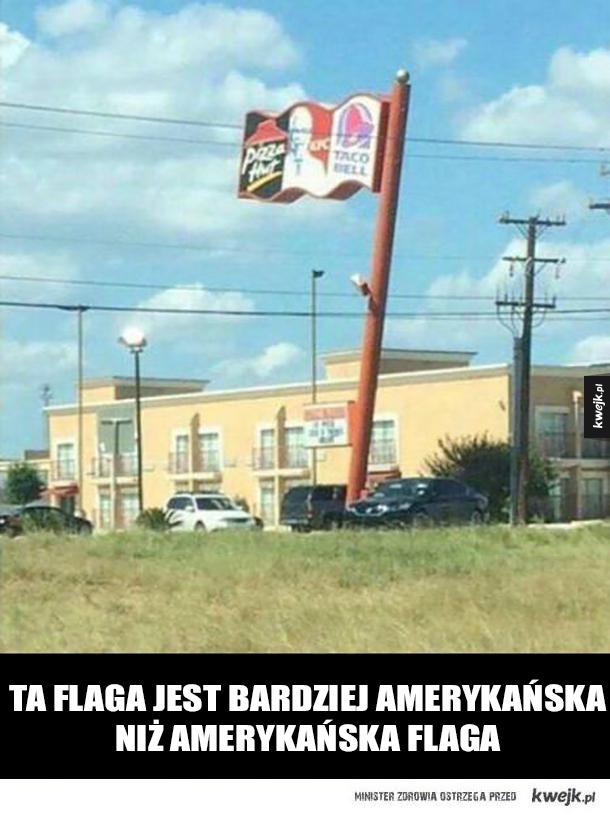 Najbardziej amerykańska flaga