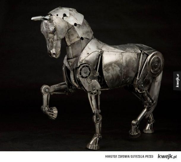 Mechaniczne zwierzęta Andrew Chase'a