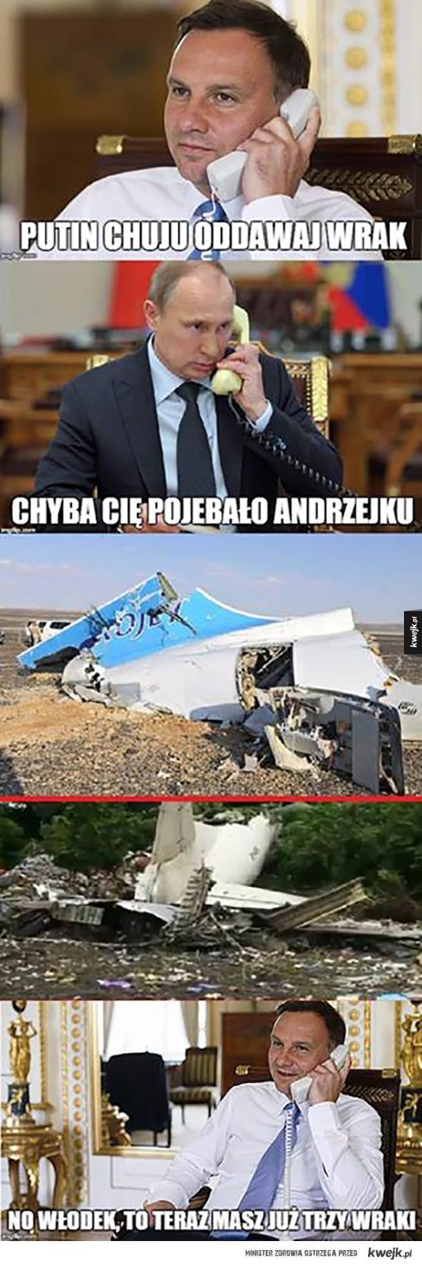 Rosyjskie samoloty