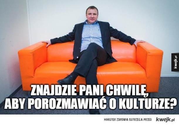 Nowy minister