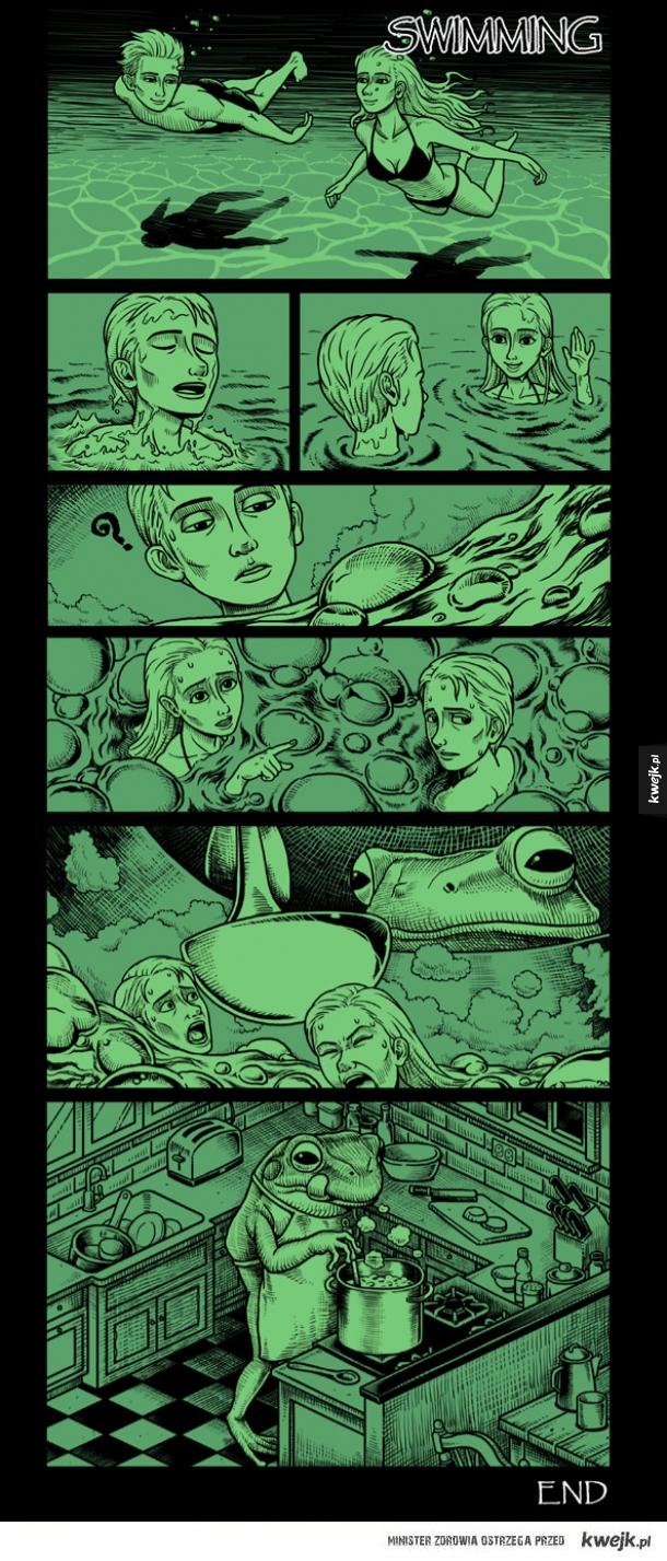 Komiksy Bena Chena