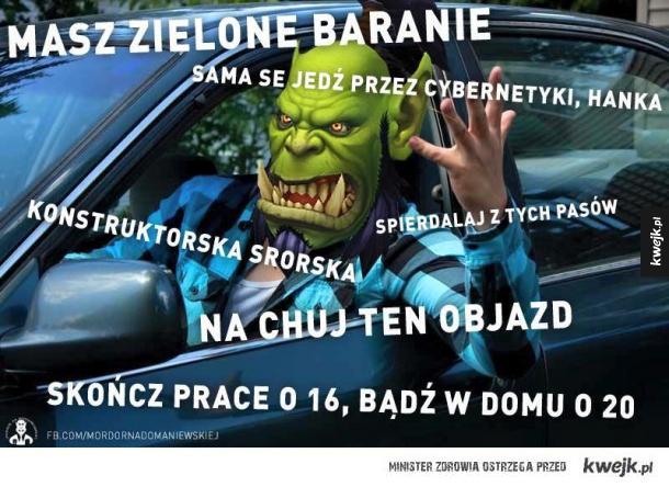 Mordor w Warszawie