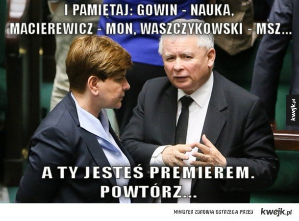 Reakcja internautów na nowy rząd - rząd, szydło, macierewicz, kaczyński, ziobro
