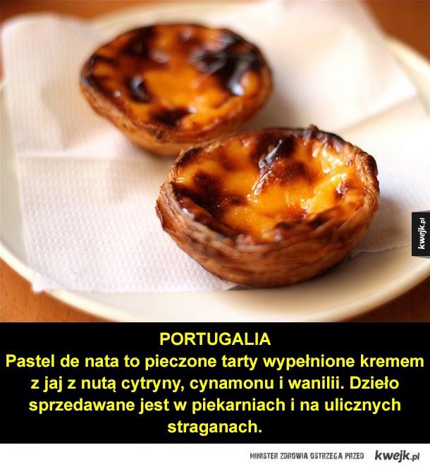 Uliczne przysmaki Europy - Portugalia, czechy, polska, węgry, słowacja, austria, jedzenie