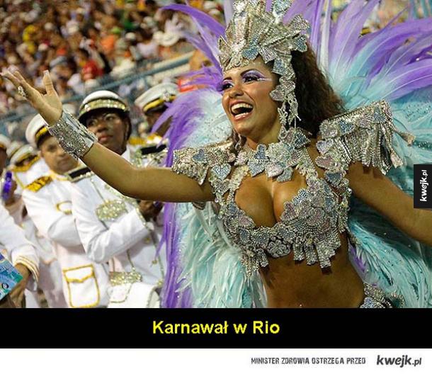 10 powodów żeby pokochać Brazylię ( ͡° ͜ʖ ͡°)