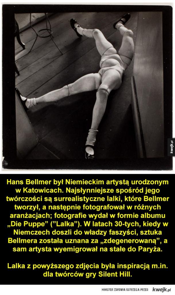 """Niepokojące """"Lalki"""" Hansa Bellmera"""