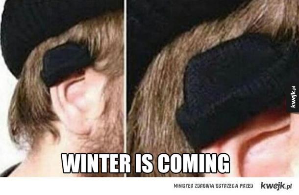 zimne uszka