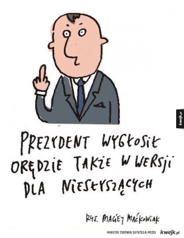 Orędzie prezydenta