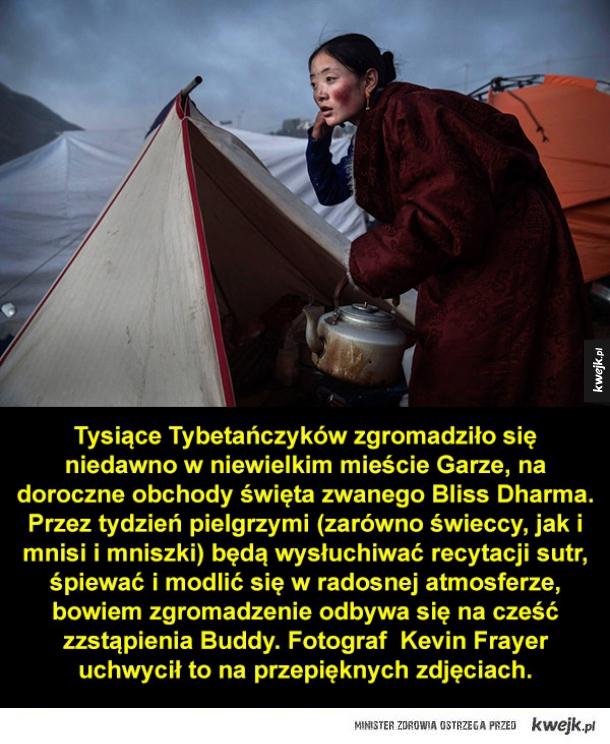 Buddyjskie święto w Tybecie