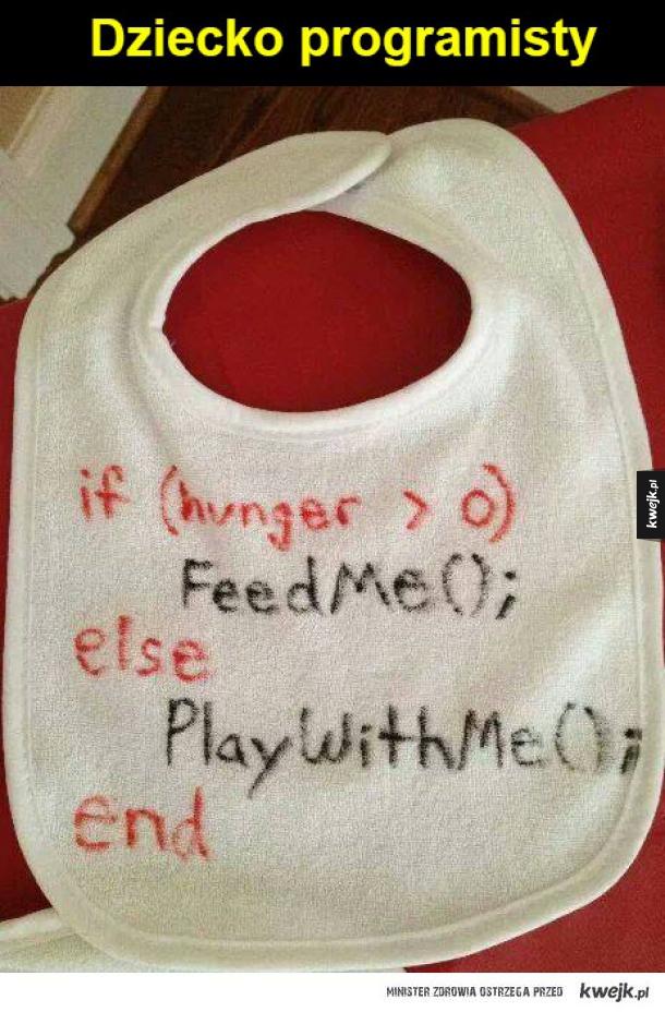 dziecko programisty