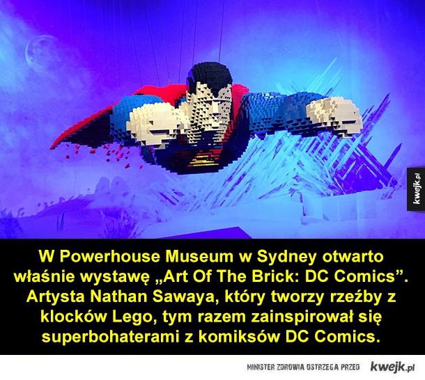 Superbohaterowie z klocków Lego