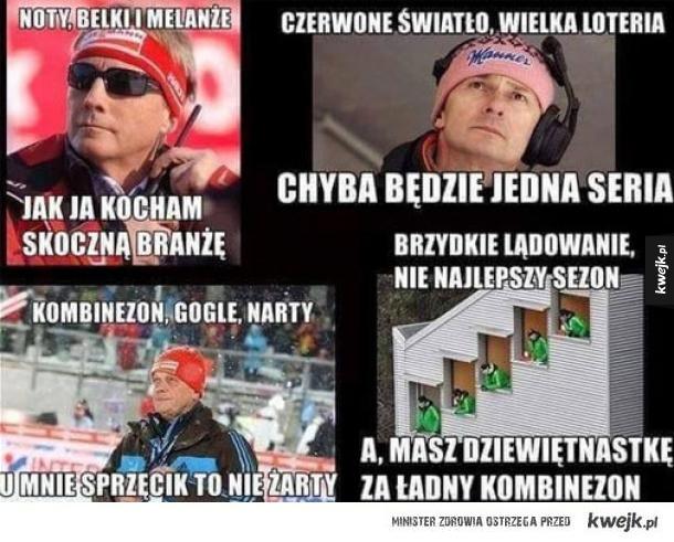 Skoki narciarski najlepszy kabaret ever