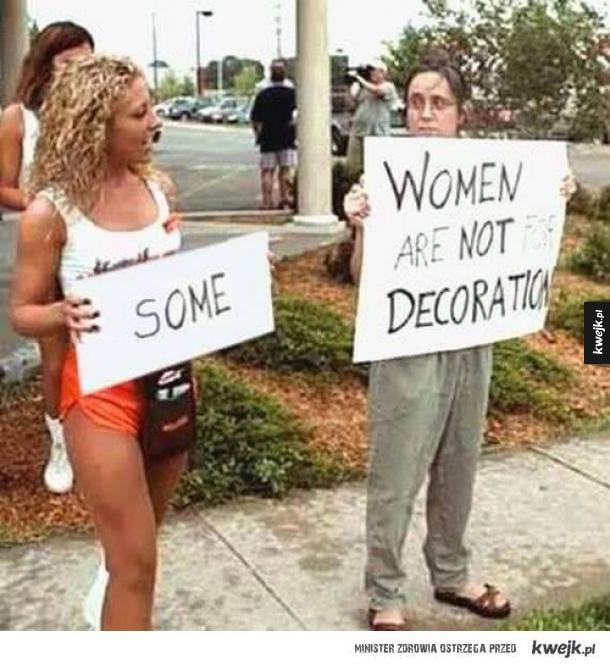 Jak zaorać feministkę