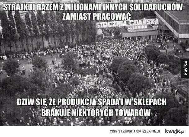 Heheszki z Solidarności