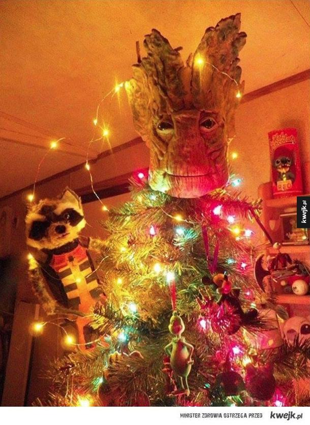 Świąteczny Groot