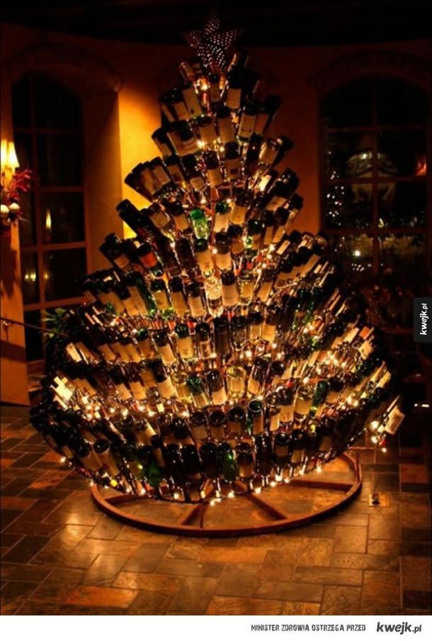 Nietypowe świąteczne choinki