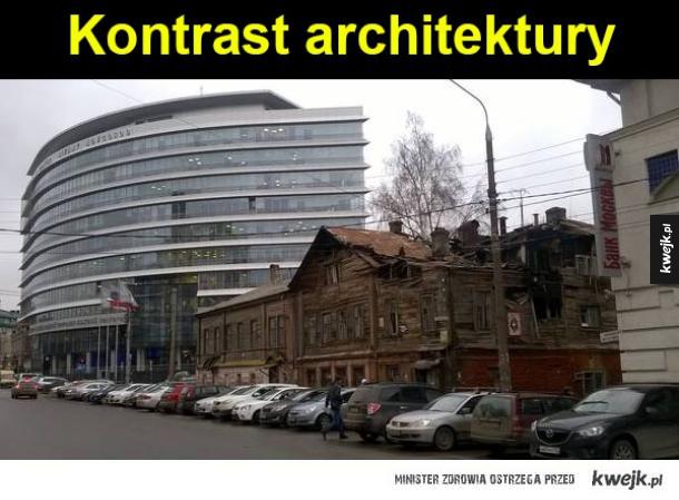 Kontrast architektury